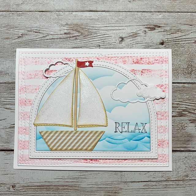 ⛵️☀️Hoping for a relaxing day 😊#thedailymarker30day