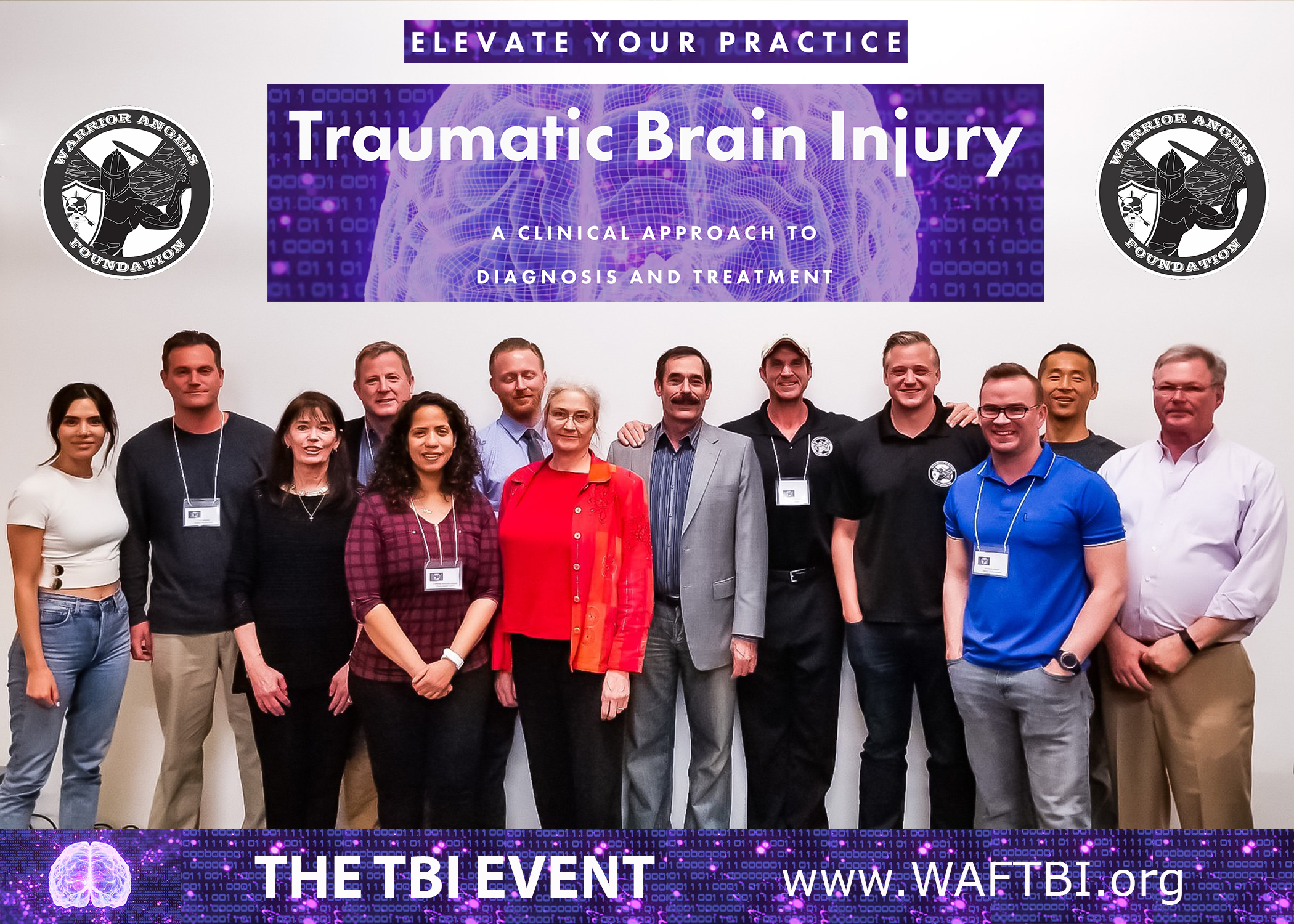 Dr. Gordon, Andrew, Adam and the absolutely amazing participants of the MWAF TBI Training Event beta launch held April 4-5th, 2019 in beautiful Marina del Rey, California.