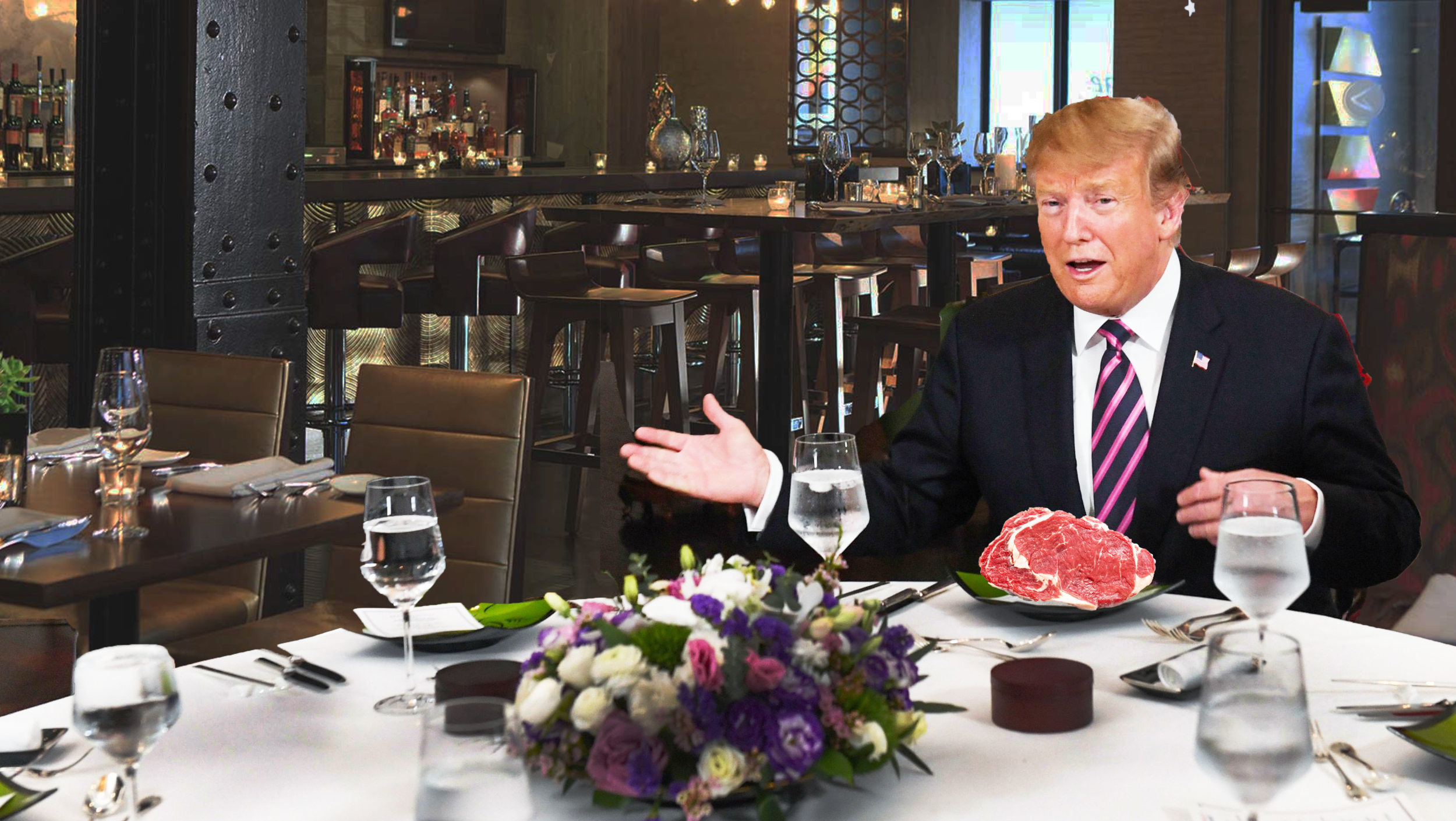 President Trump In A G Dang Pickle