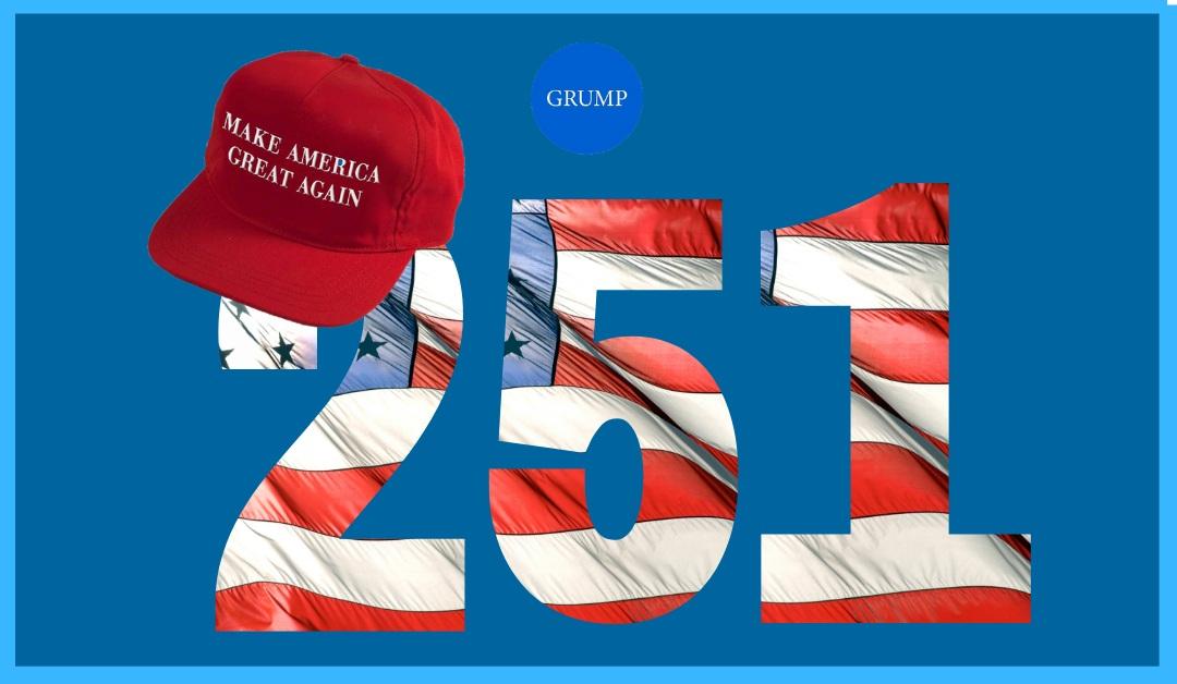 Keep up the good work America!