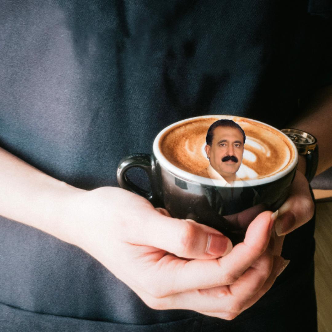 What's Mr. Hillyard's Fuckin Mug Doin In My Coffee?