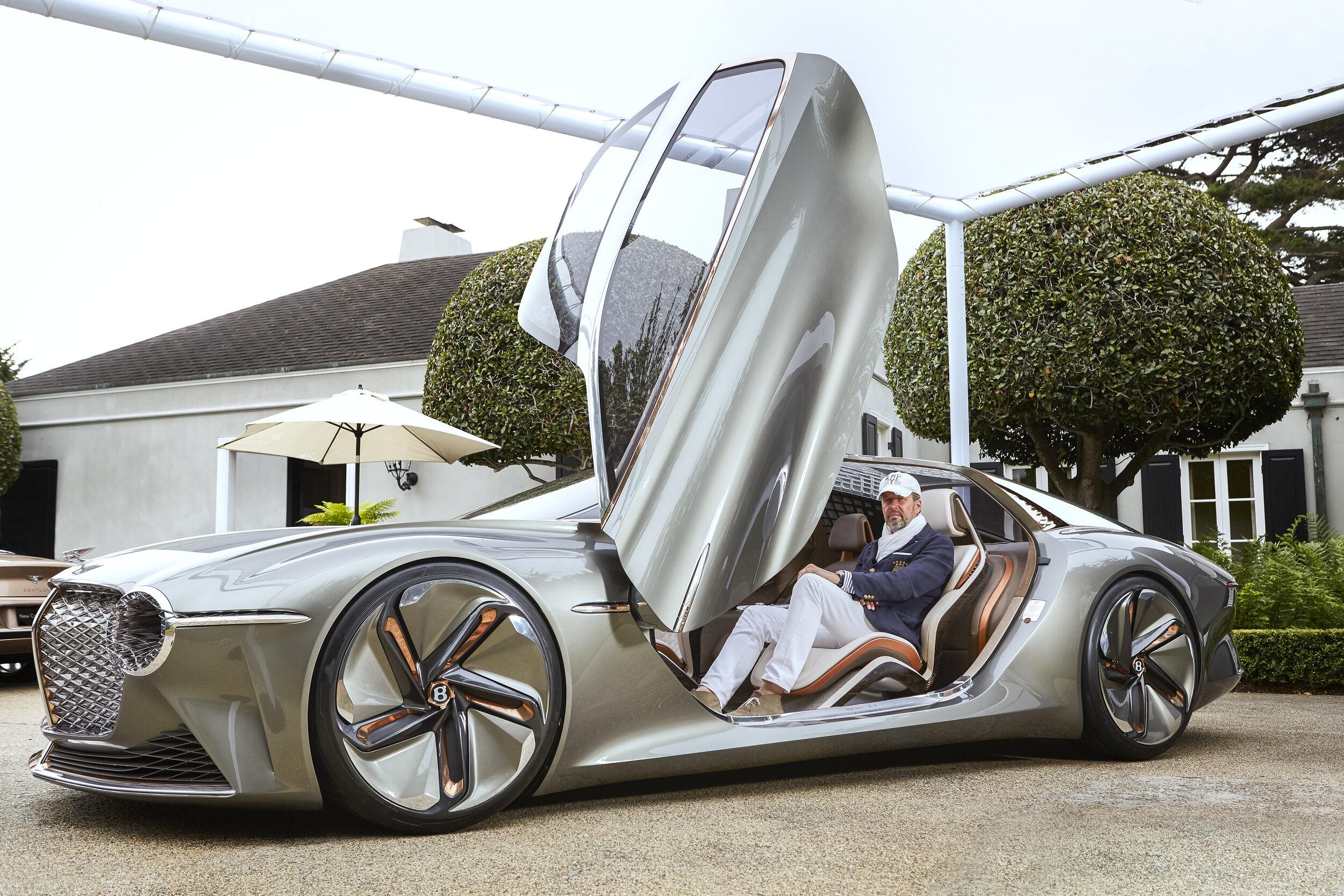 Stefan Sielaff, Bentely Automotive.  Pebble Beach, Califronia