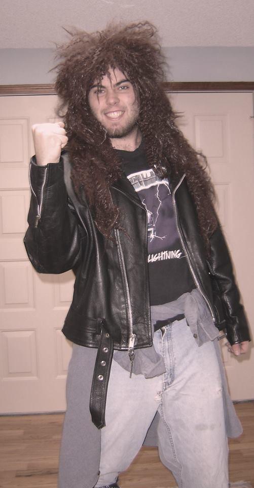 Craig Haller in his metal daze.