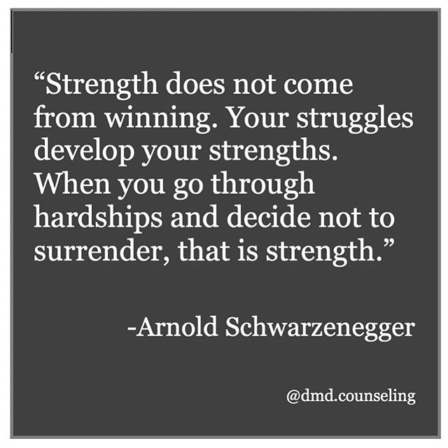 Strength is born from struggle. When you see someone struggling notice their strength, both on the inside and on the outside. . . . . #selflove #self #selfcare #anxiety #depression #women #men #girlpower #loveyourself #anorexia #bn #houstontx #htx #texas #houston #therapy #therapist #psychotherapy #counseling #counselor #risk #takingrisks #entrepreneur #inspo #quotes #youareworthy #innerstrength #strong #strength #mentallystrong