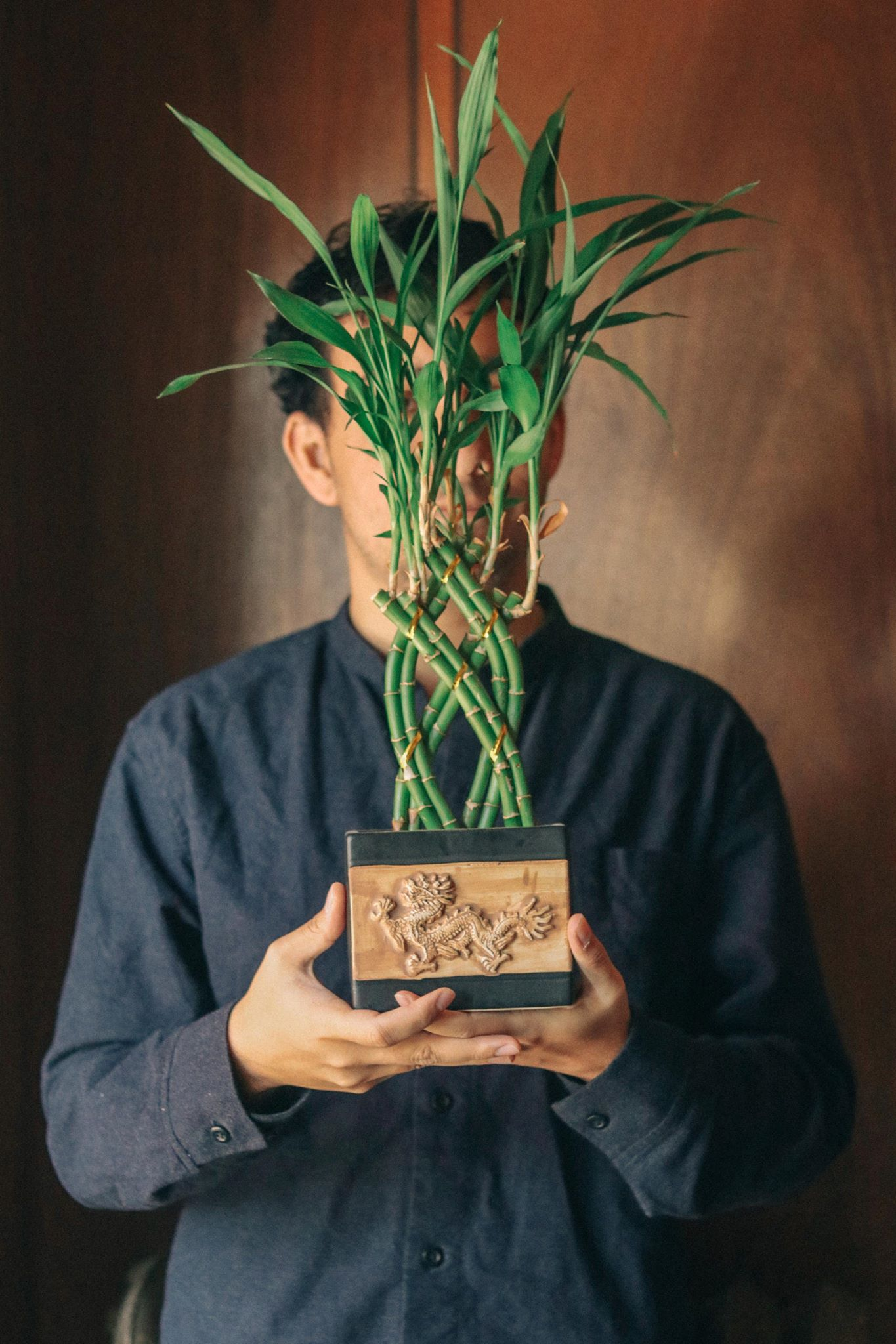 It's me and one of my plants