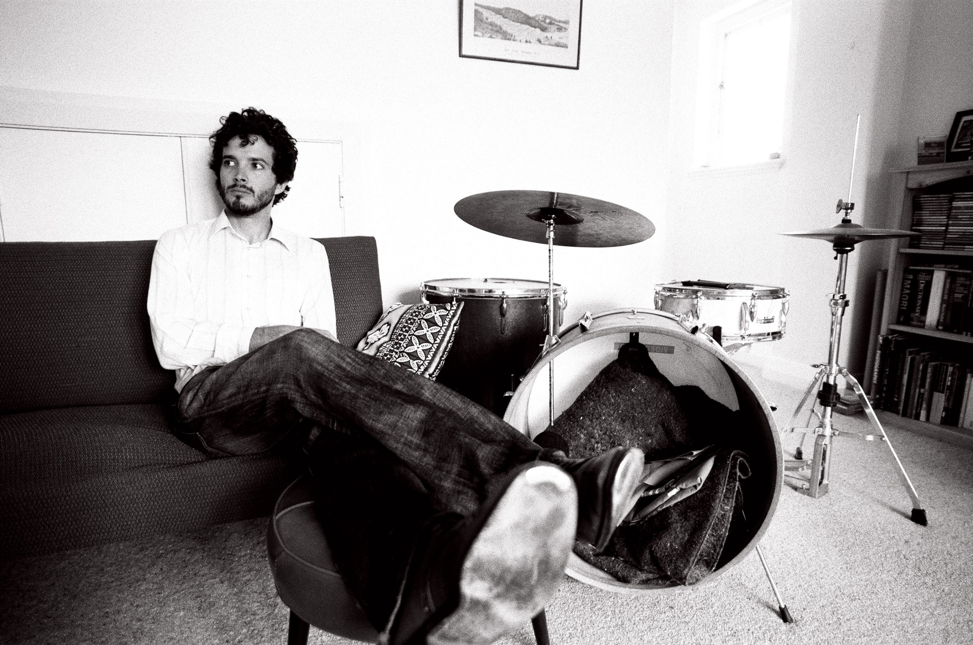 Bret McKenzie at home