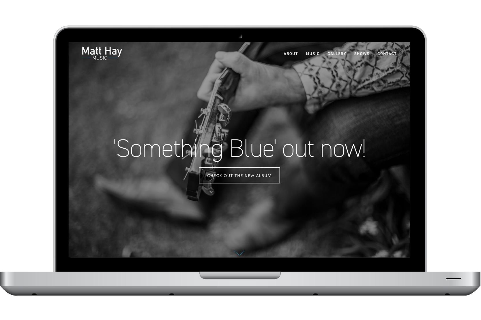 Matt Hay Music website
