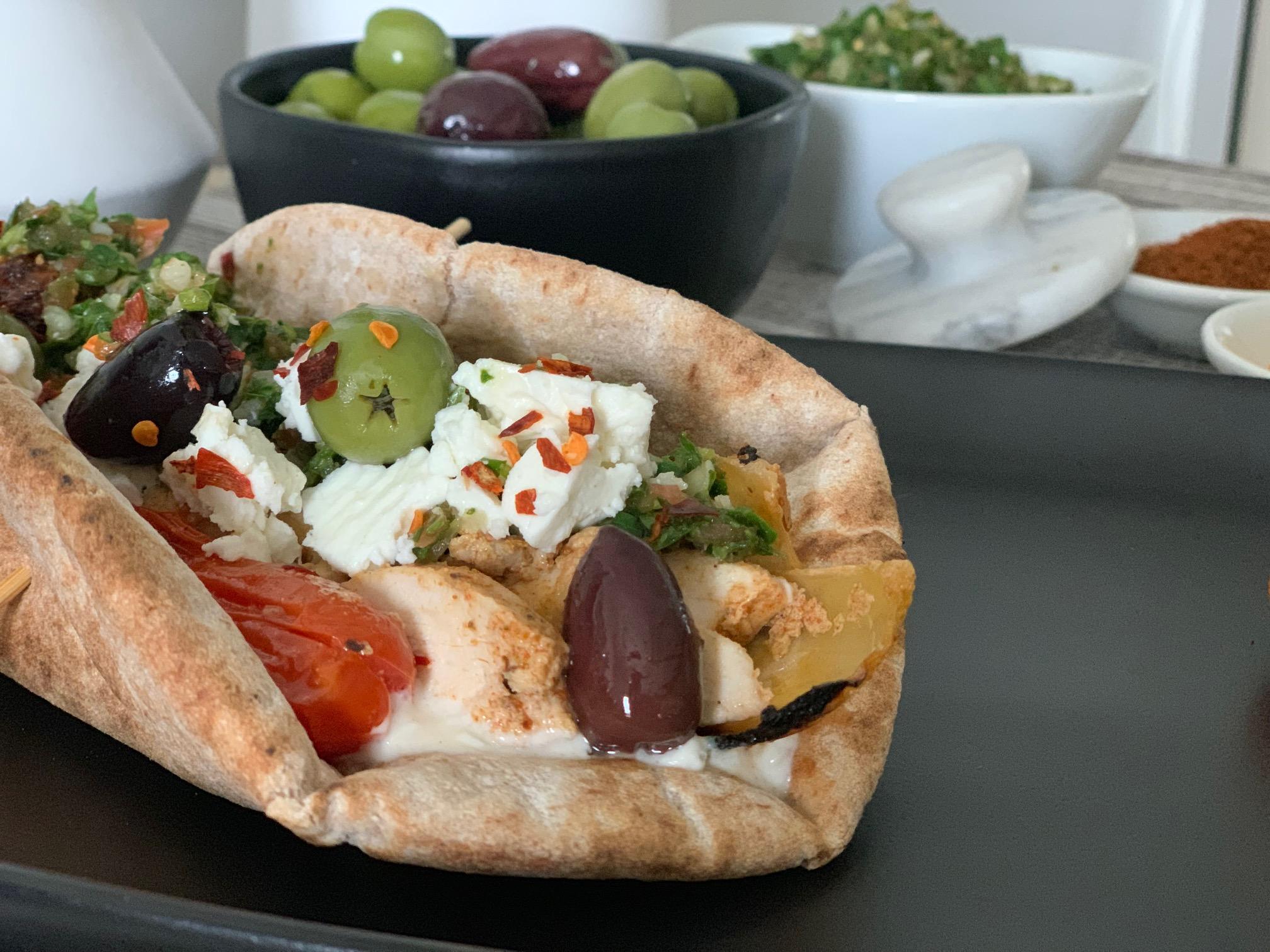 Chicken Shawarma Pita