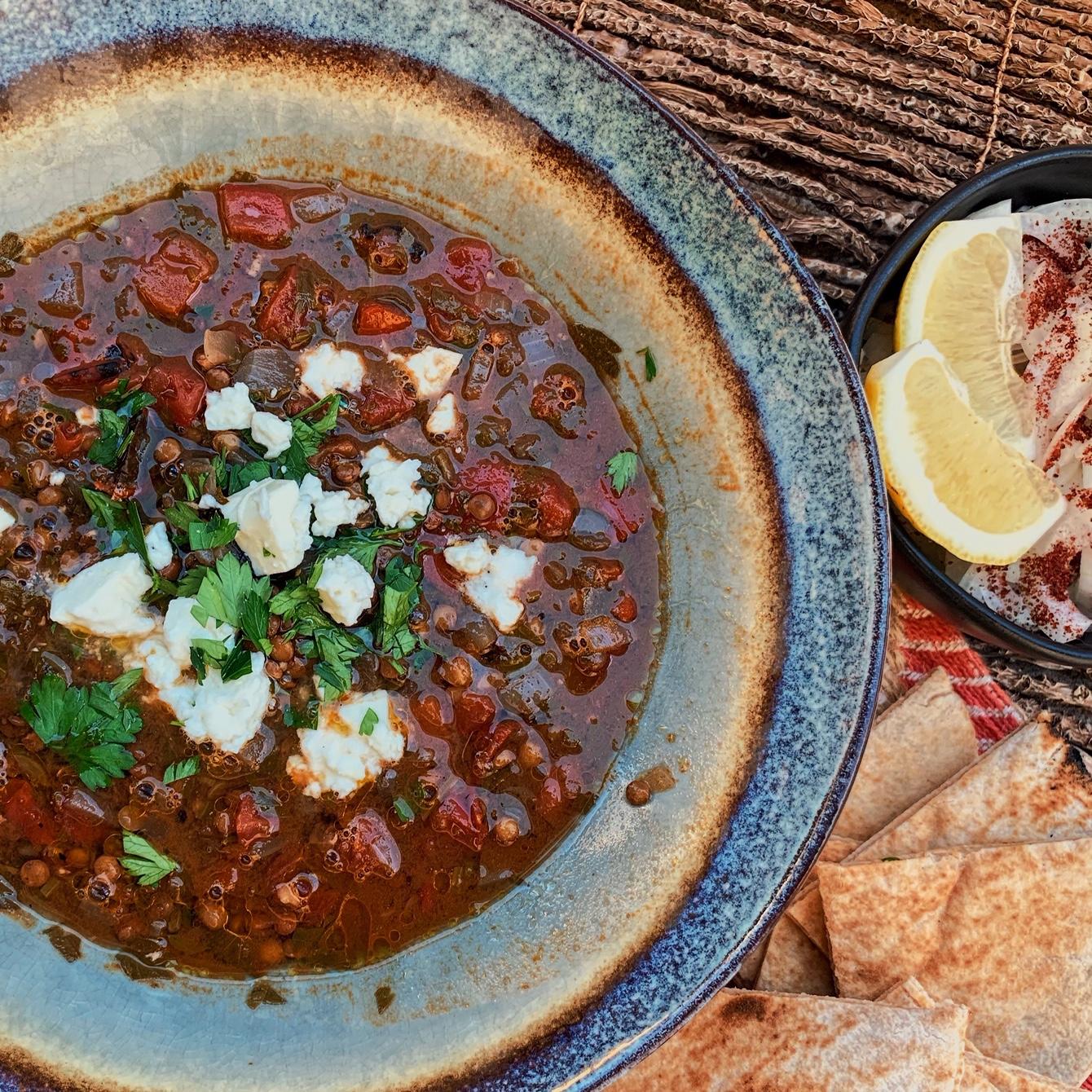 Hearty Persian Lentil Soup