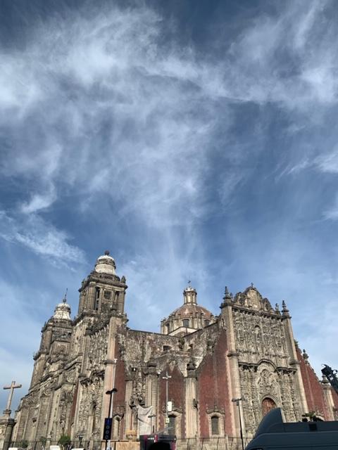 Metropolitan Cathedra, Zocalo Square