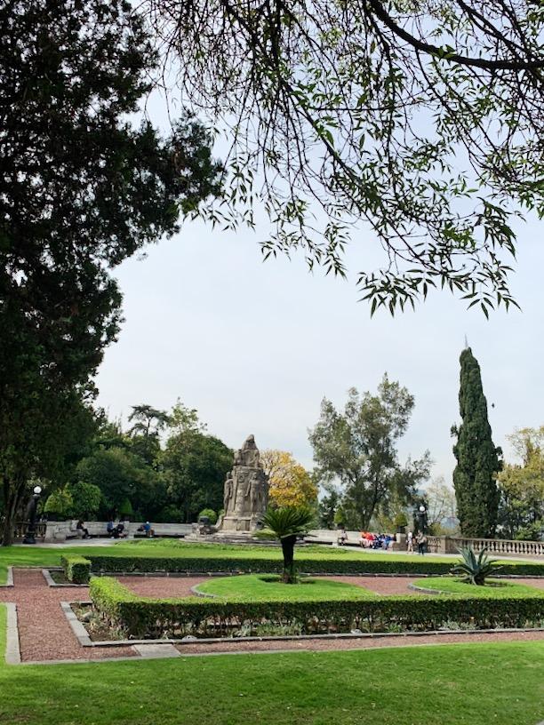 Bosque de Chapultepec, grounds