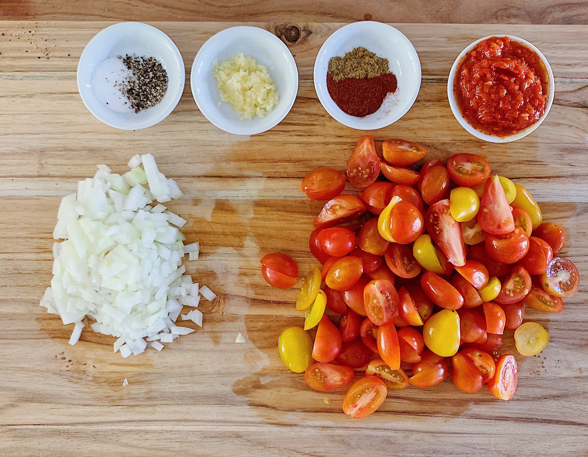 Shakshuka Sauce Ingredients