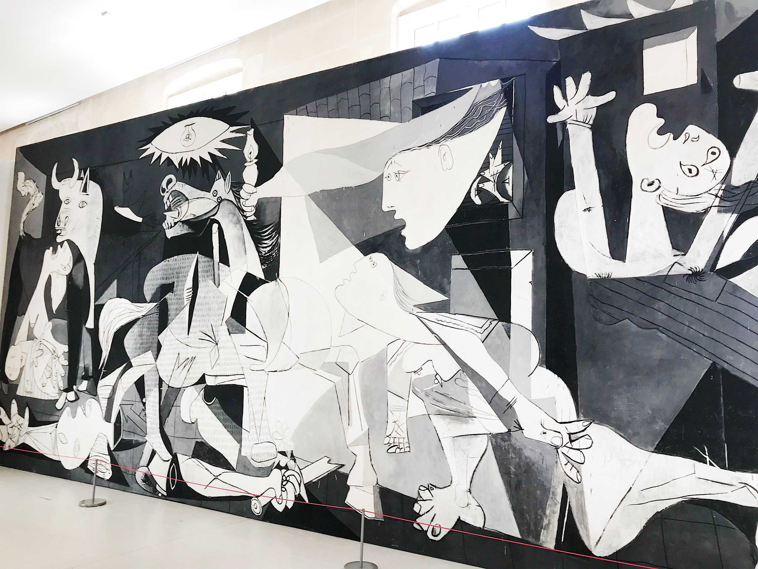 Guernica, 1937, Musee Picasso, 3rd Arr., Paris