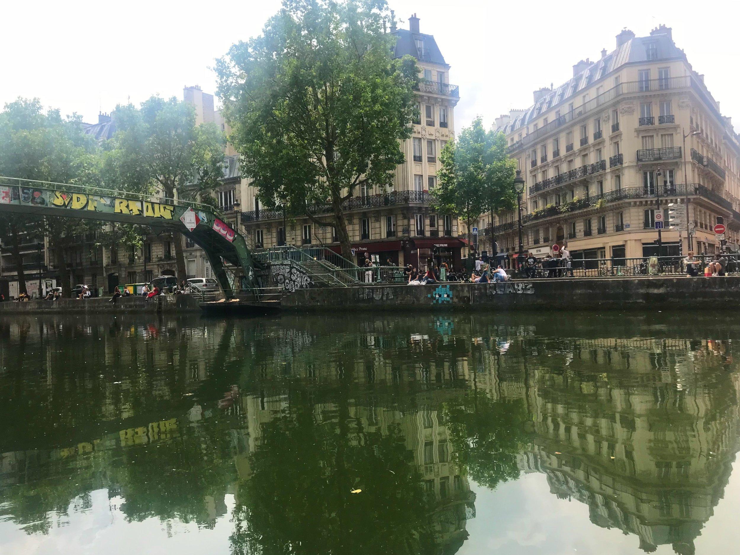 Canal Saint-Martin, 10 eme, Paris