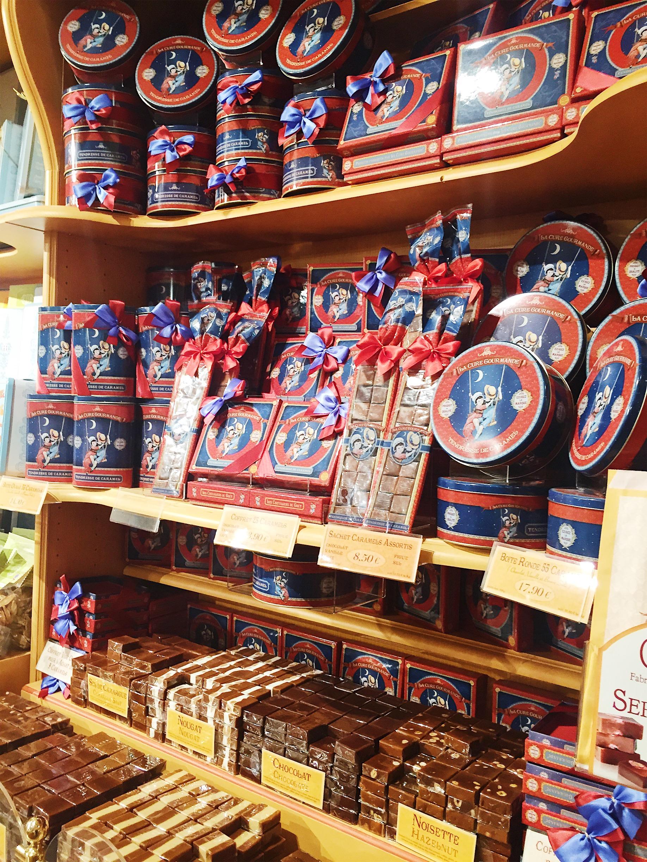 candies at Épicerie de Paris