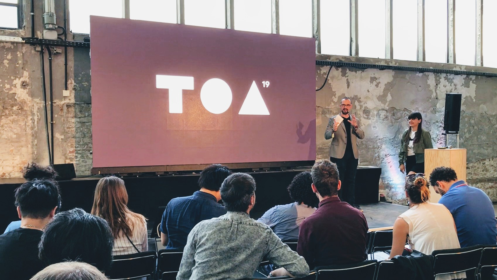 Mentessa's pitch at this year's Tech Open Air in Berlin