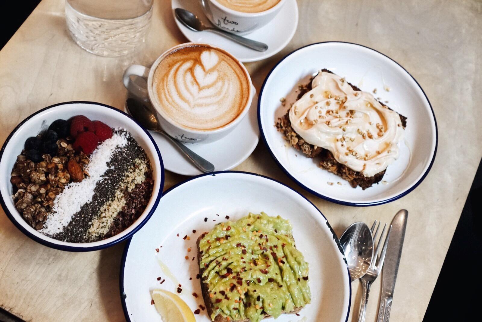 Julia Friedman New York Trip in December at Two Hands Restaurant.