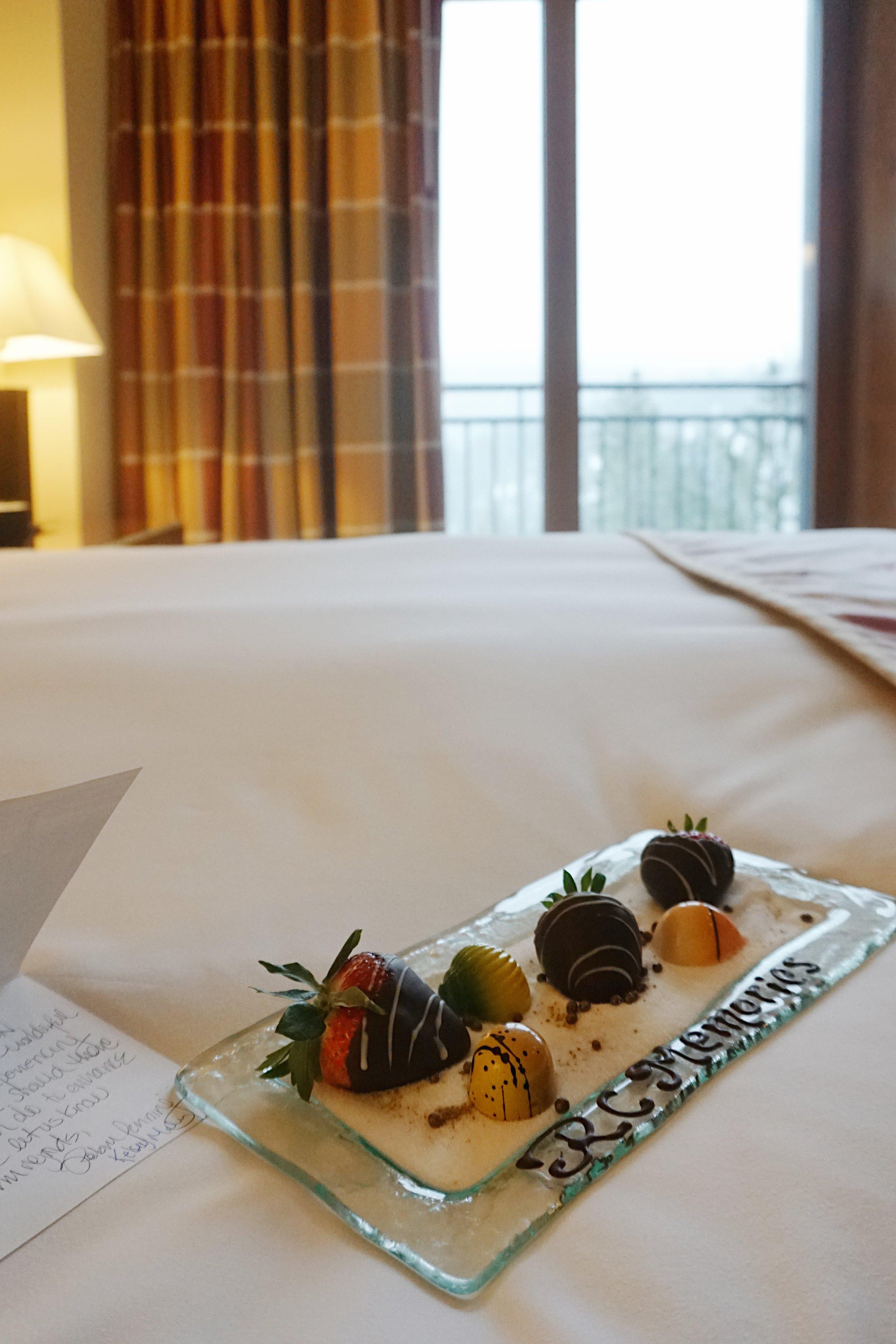 Julia Friedman's stay at the Ritz Carlton in Lake Tahoe.