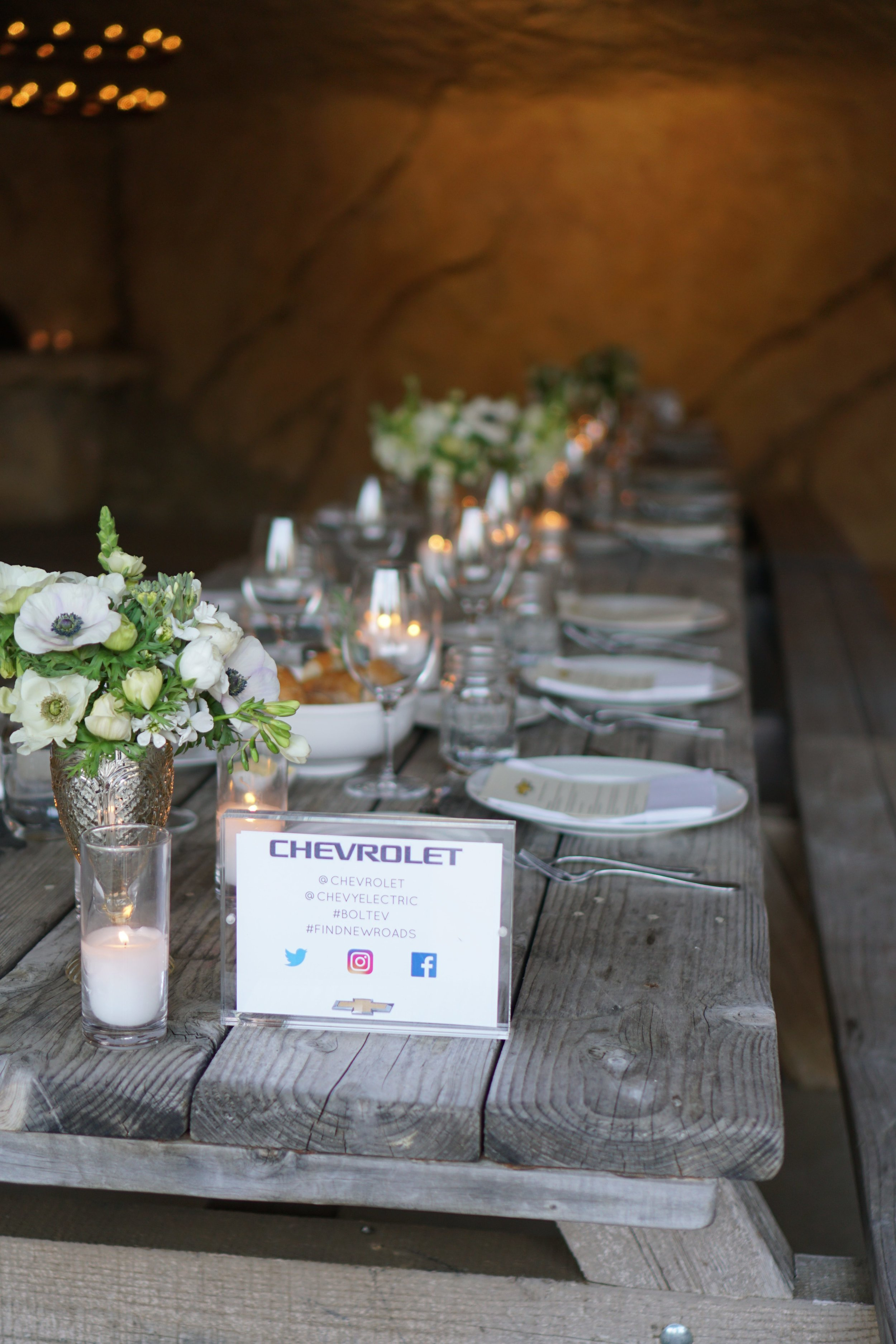 Julia Friedman attends Chevrolet dinner at Sunstone Winery and Vineyards in Santa Ynez.