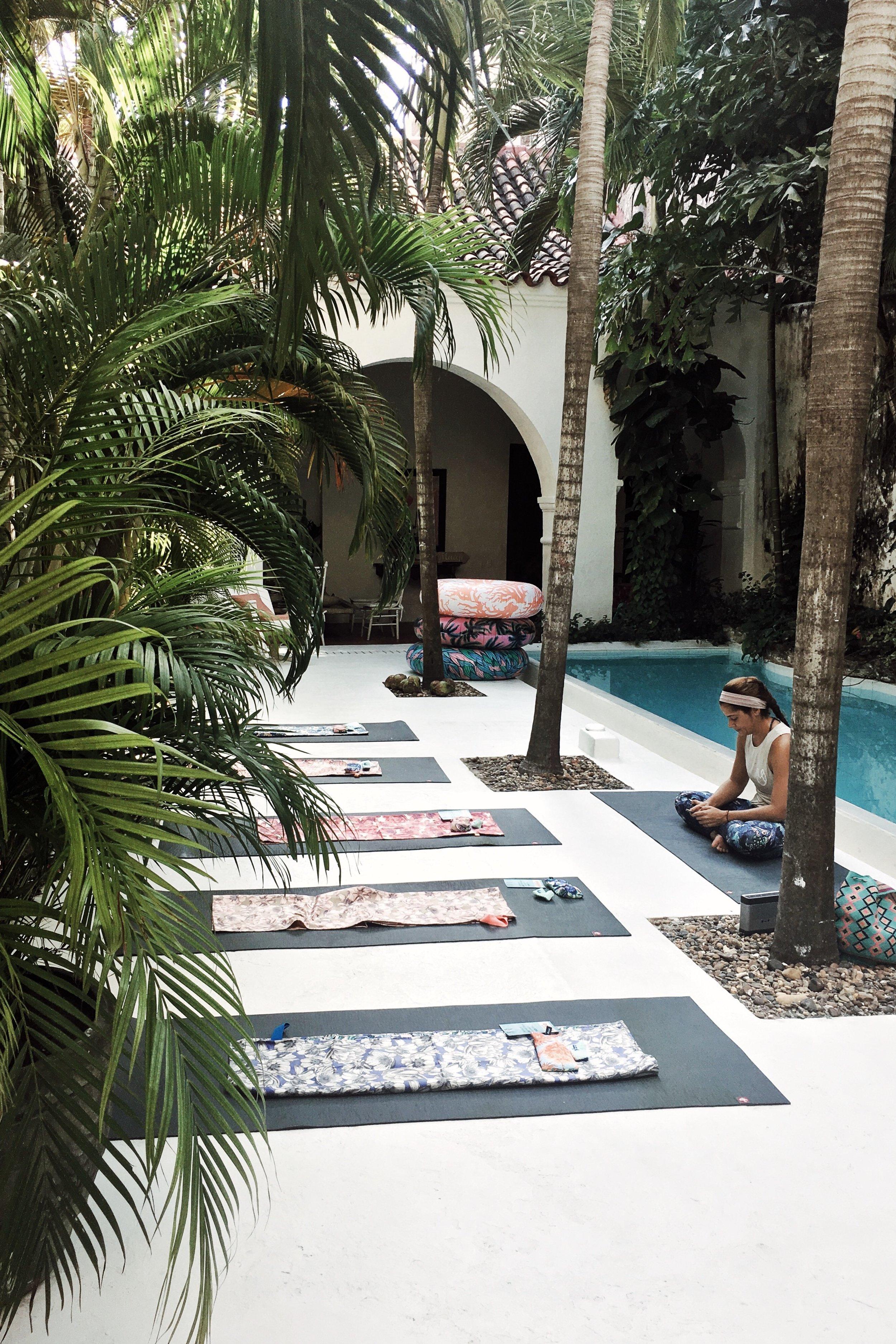 Julia Friedman's trip to Cartagena, Colombia with Maaji Swimwear