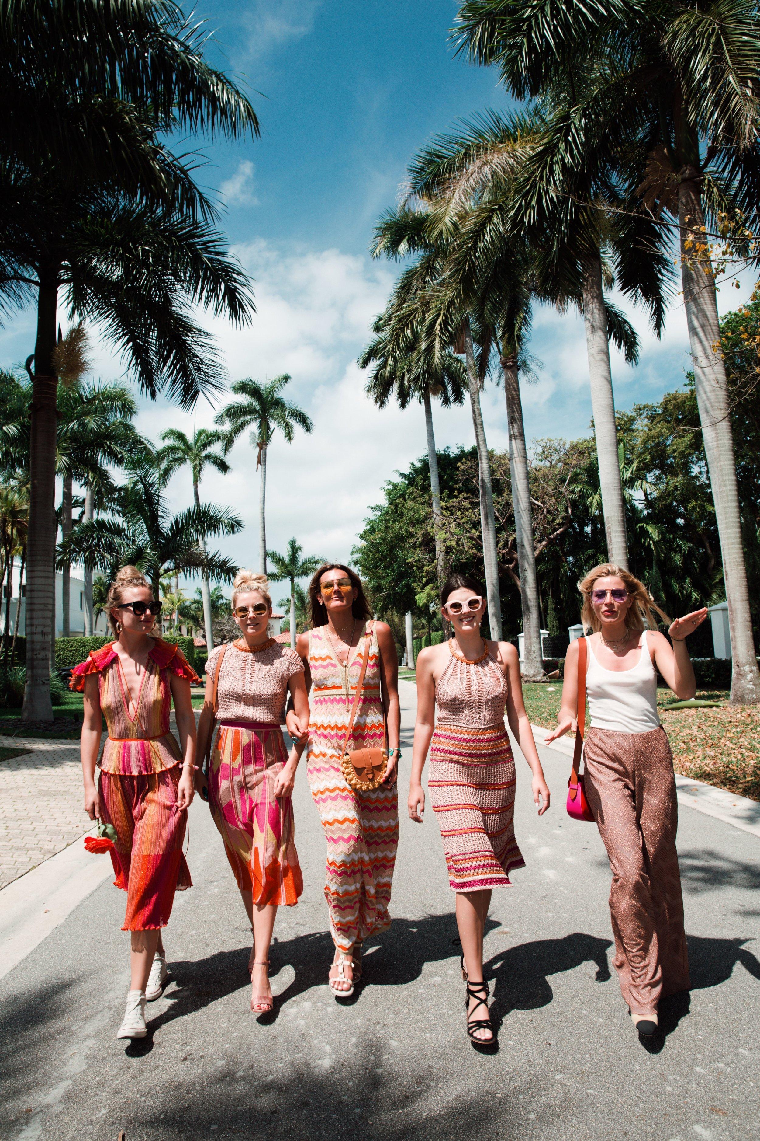 Sunset Island, Miami with M Missoni
