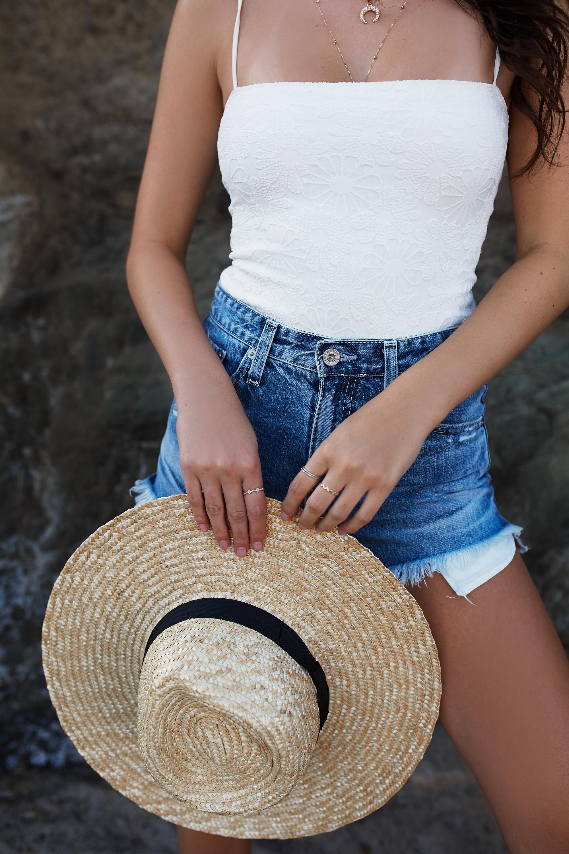Julia Friedman's favorite straw hats under $100.