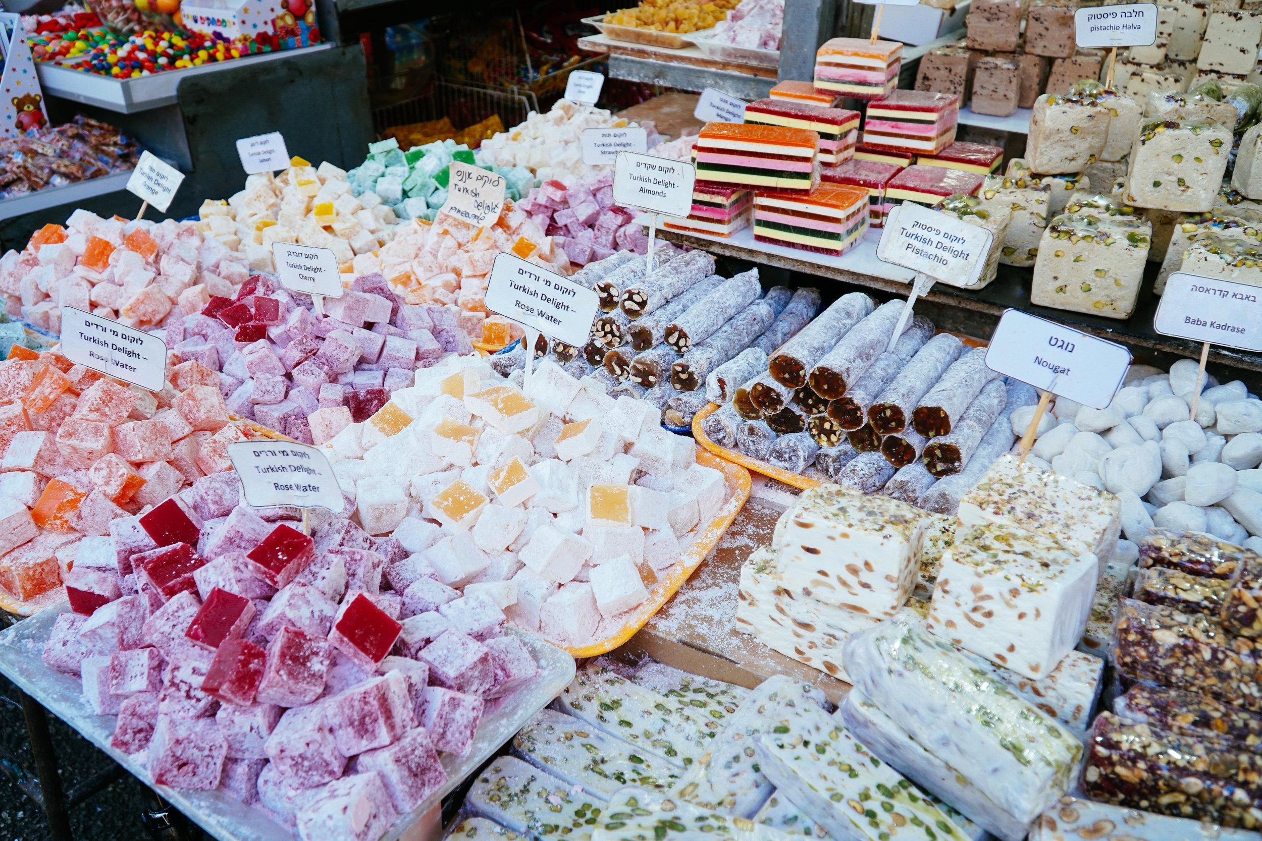 Julia Friedman's Tel Aviv Diary Week 1 at the Hacarmel Market.