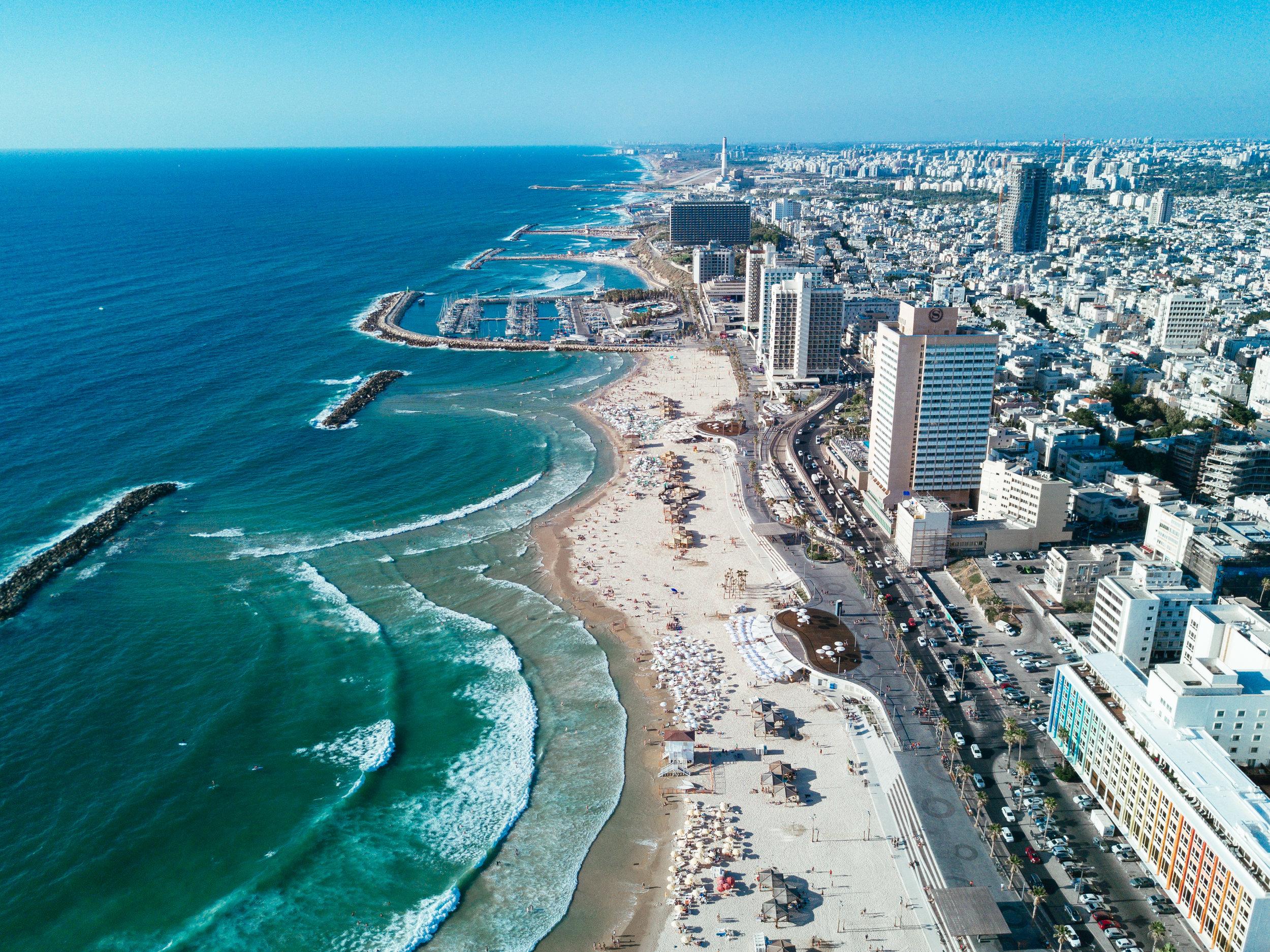 Israel Diary Week #3 Tel Aviv by Drone