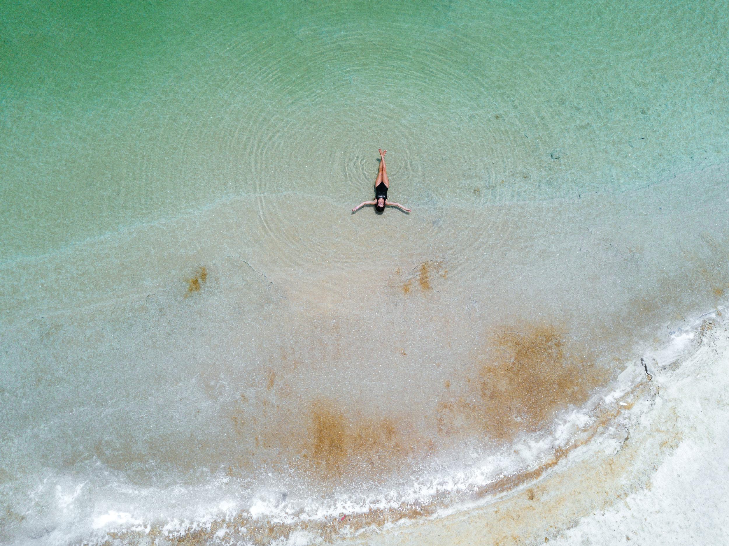 The Dead sea by Julia Friedman Israel Diary.