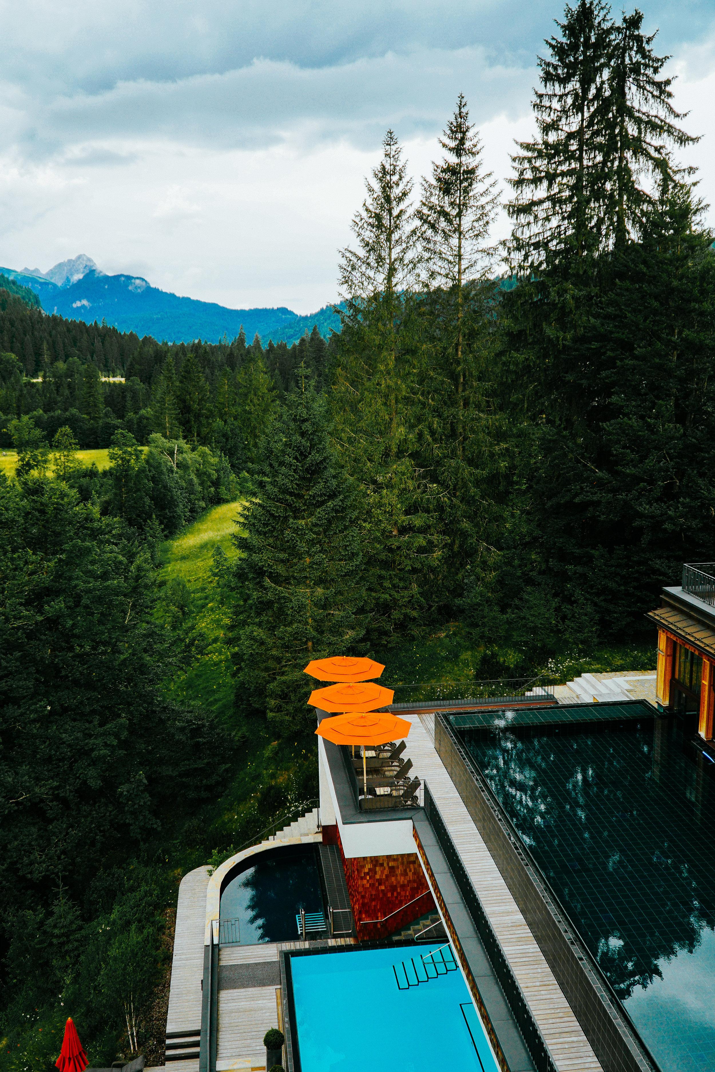 Julia Friedman stays at the Schloss ELmau in Germany | Bavarian Beauty System Professional