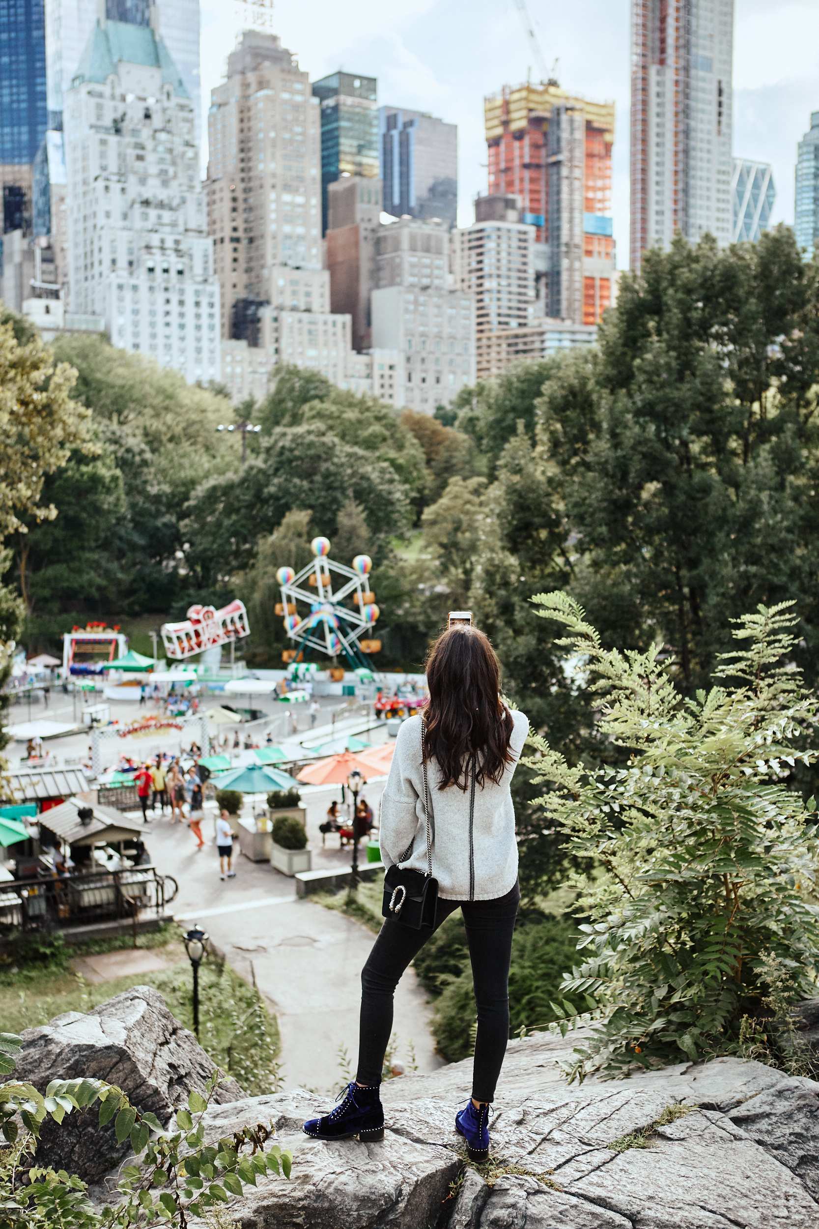 5 Places to Take a First Timer in New York | Central Park Julia Friedman