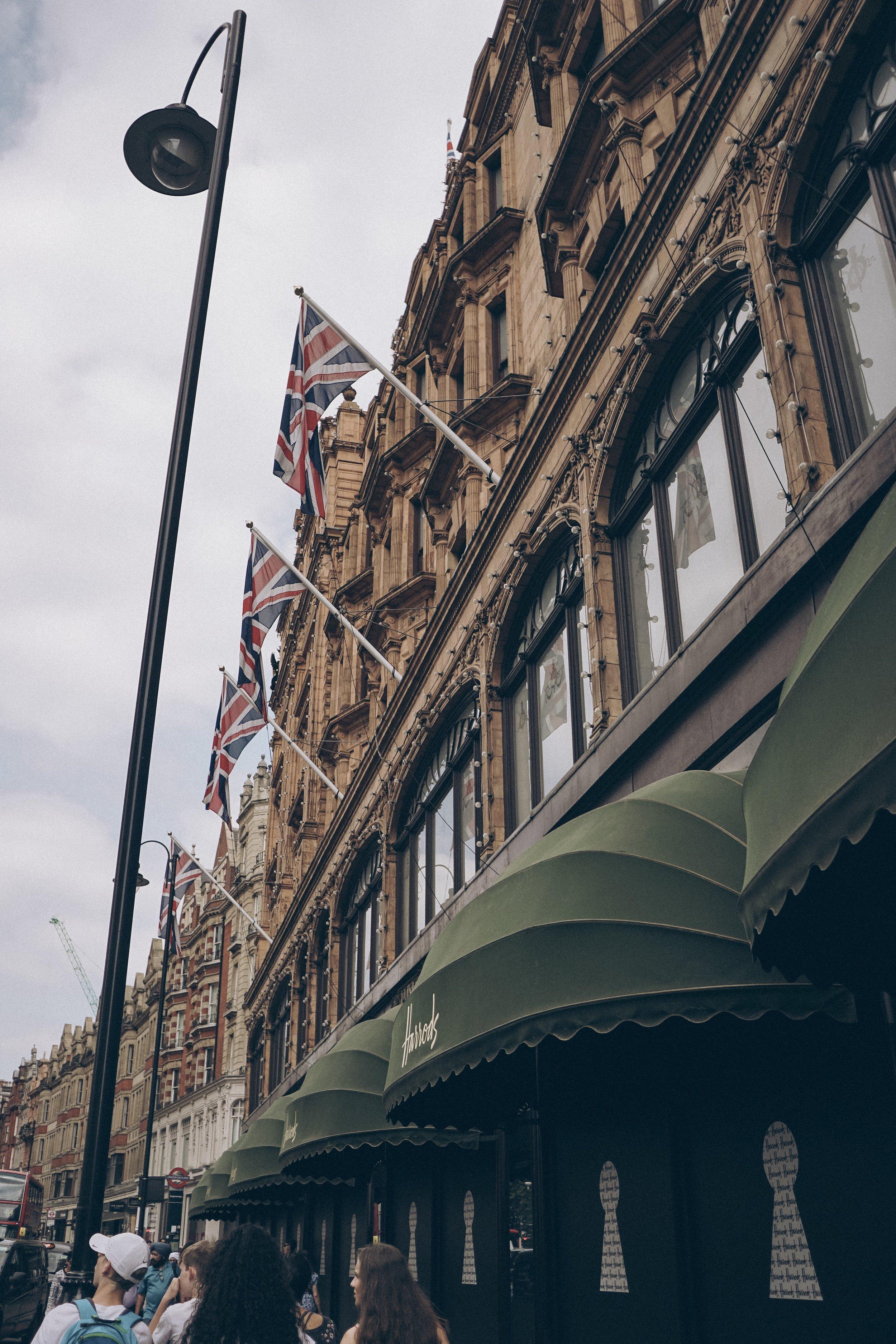 Harrods in London Julia Friedman
