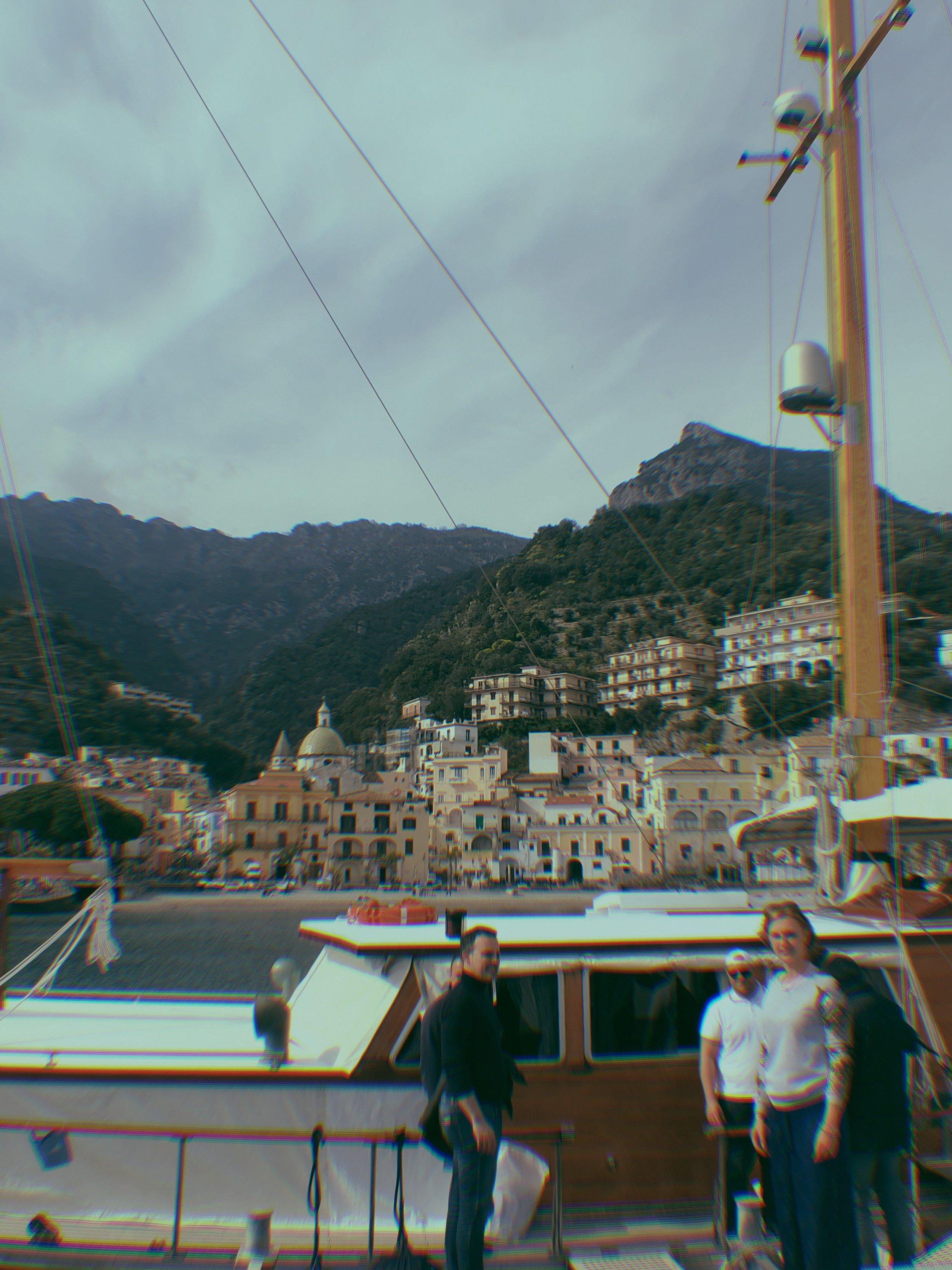 boat to positano atelier