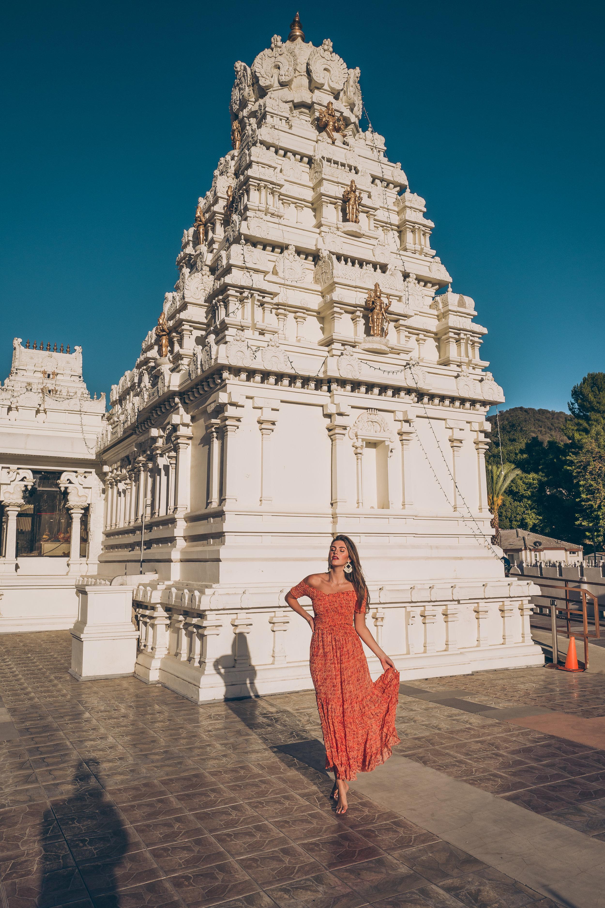 malibu hindu temple julia friedman poupette st barth dress malibu gems