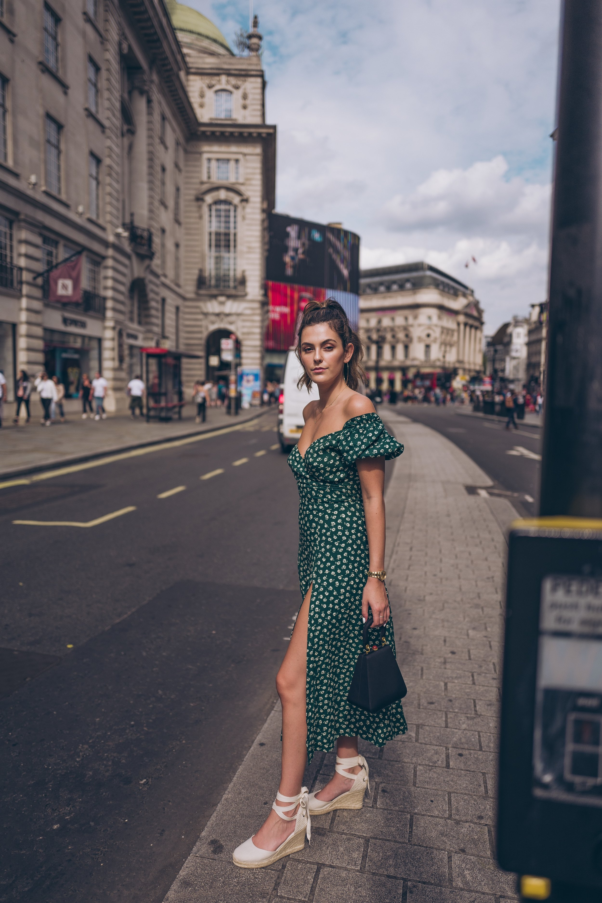 Julia Friedman piccadilly circus London reformation dress