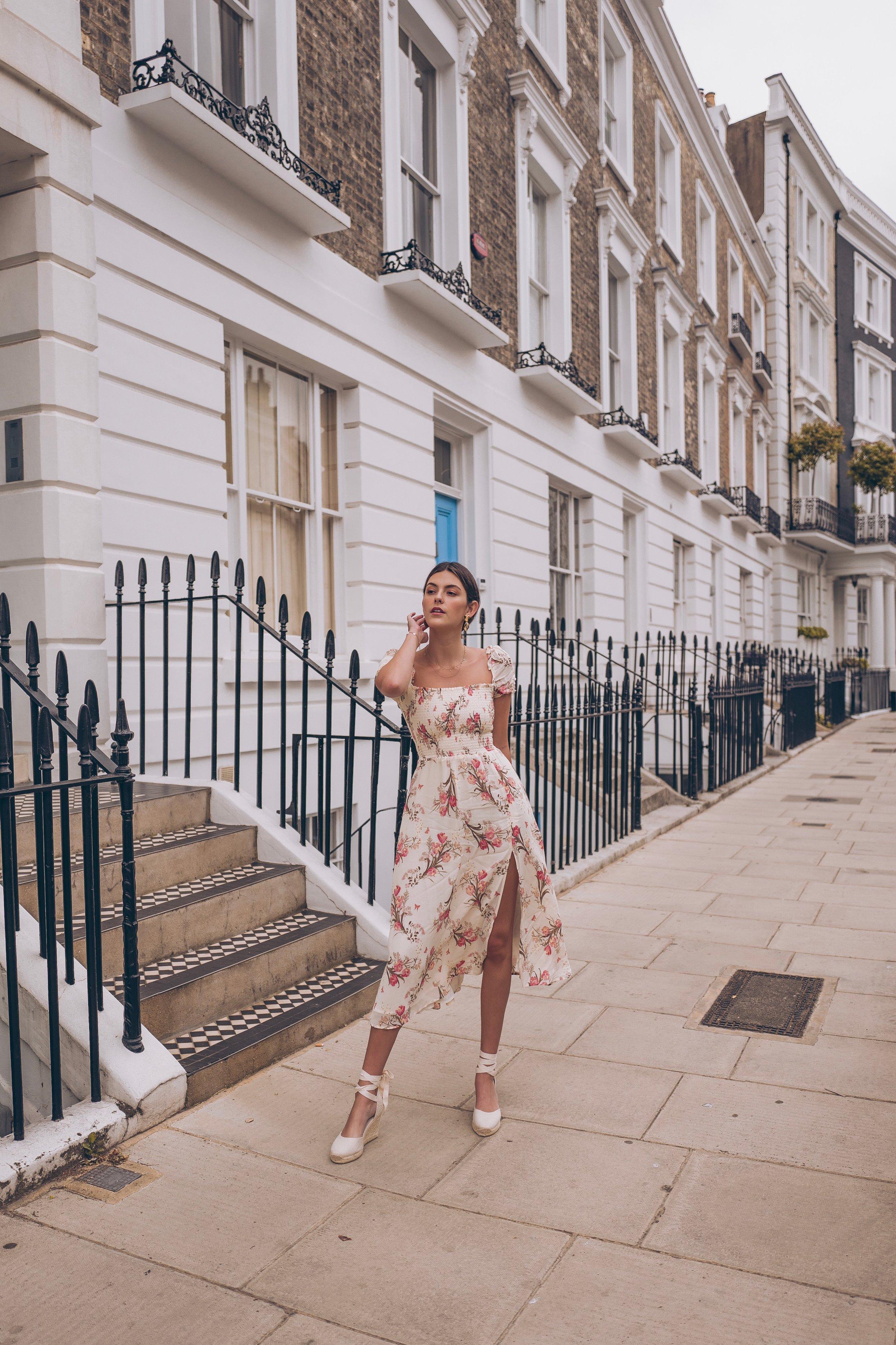 Julia friedman notting hill reformation dress London