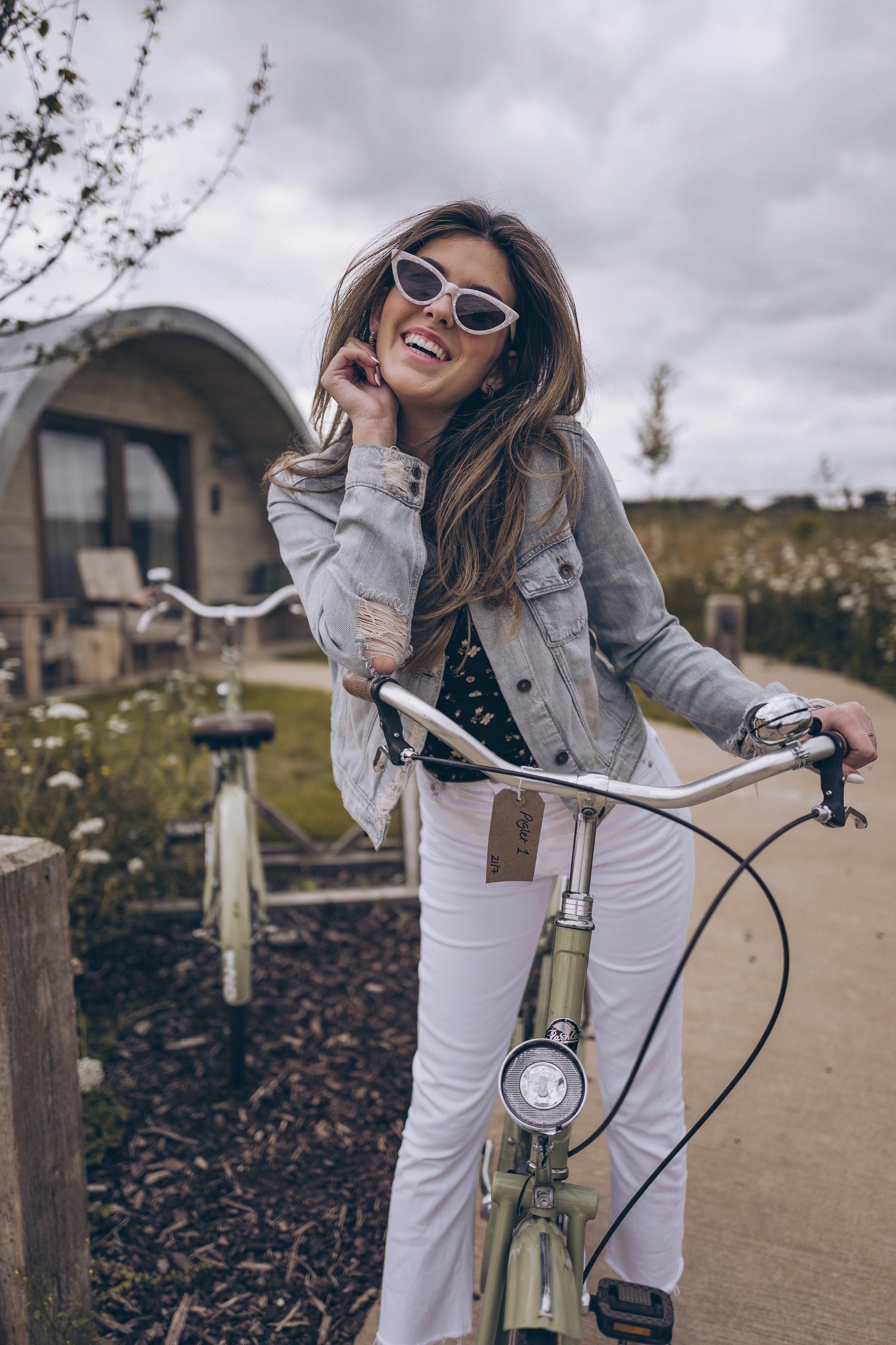 Julia friedman soho farmhouse bike riding