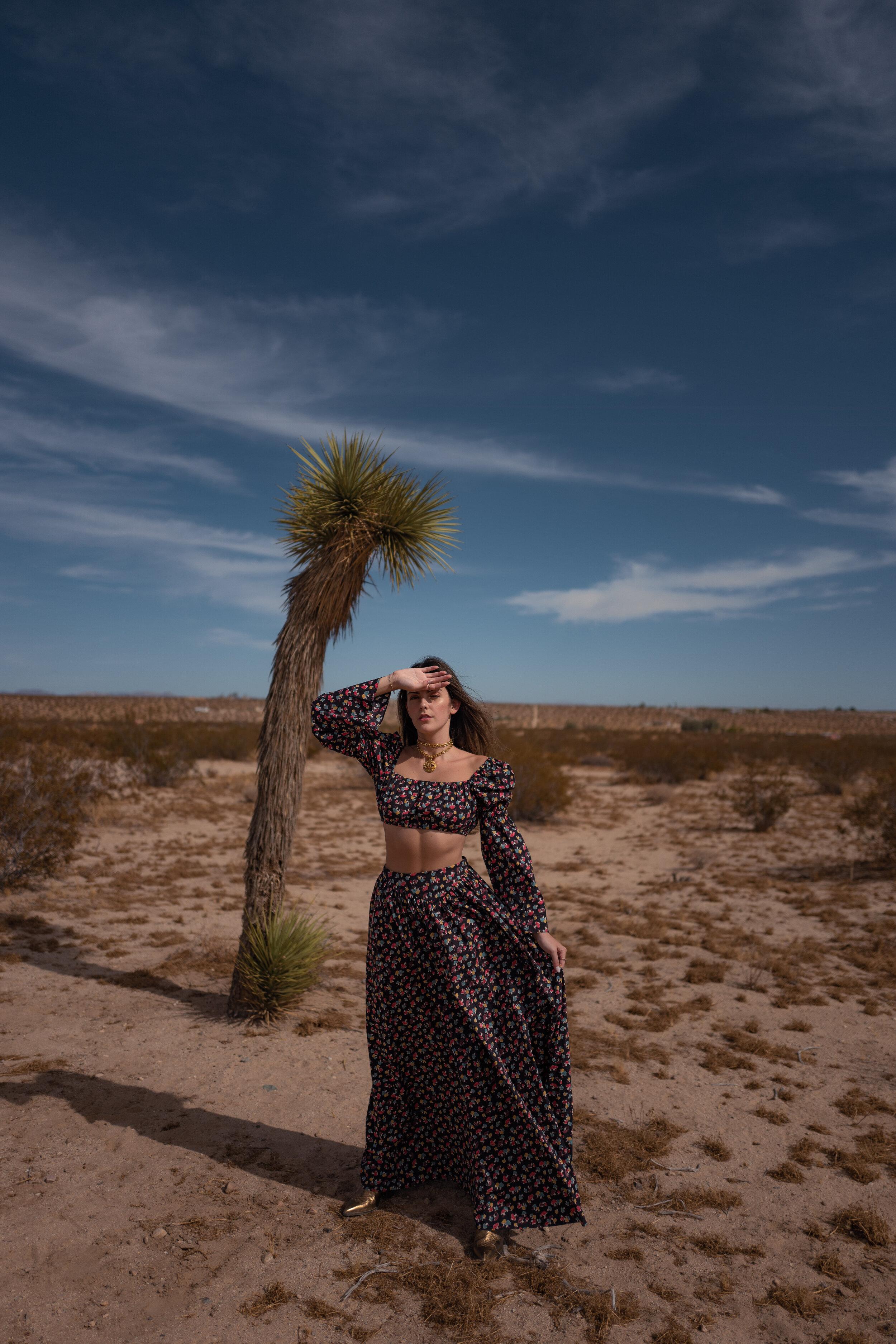 What I Wore in Joshua Tree Julia Friedman in Staud Clothing