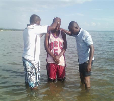 Baptisms in Kigoma, Tanzania, Dec 2016