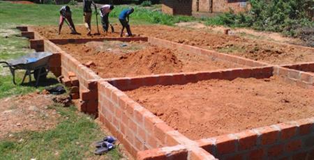 Kitwe Hall foundation, Zambia