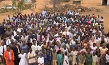 Crowd at Kenyan rally