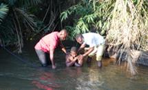 Baptism by full immersion as the Bible commands