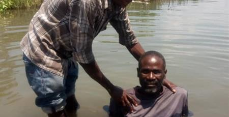Baptism in Zambia