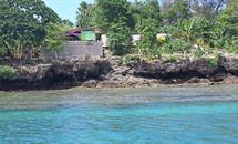 Recently built new hall in Caroline Bay, Malekula Vanuatu
