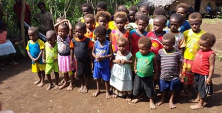 Children at Siloe.