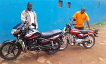 New motorbikes in Mozambique.