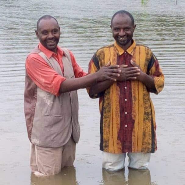 Baptism at Kabarore, Rwanda