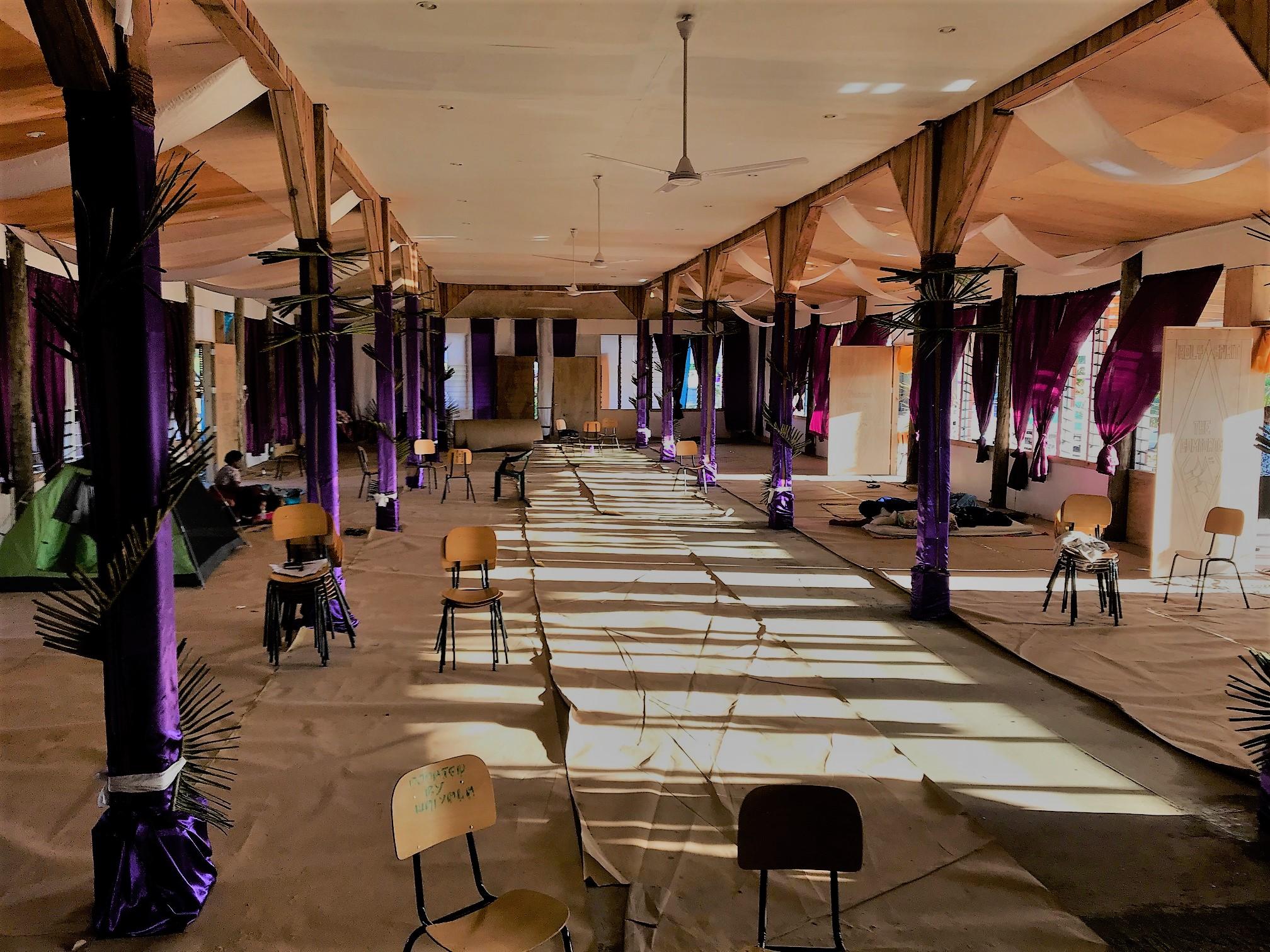 New Lautoka hall interior