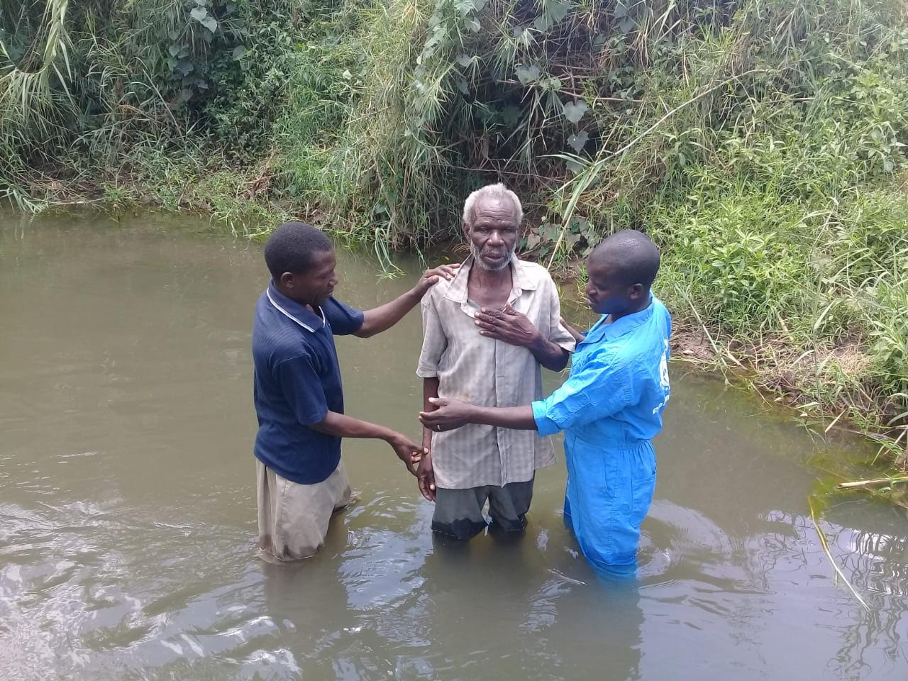 Baptism in Uganda