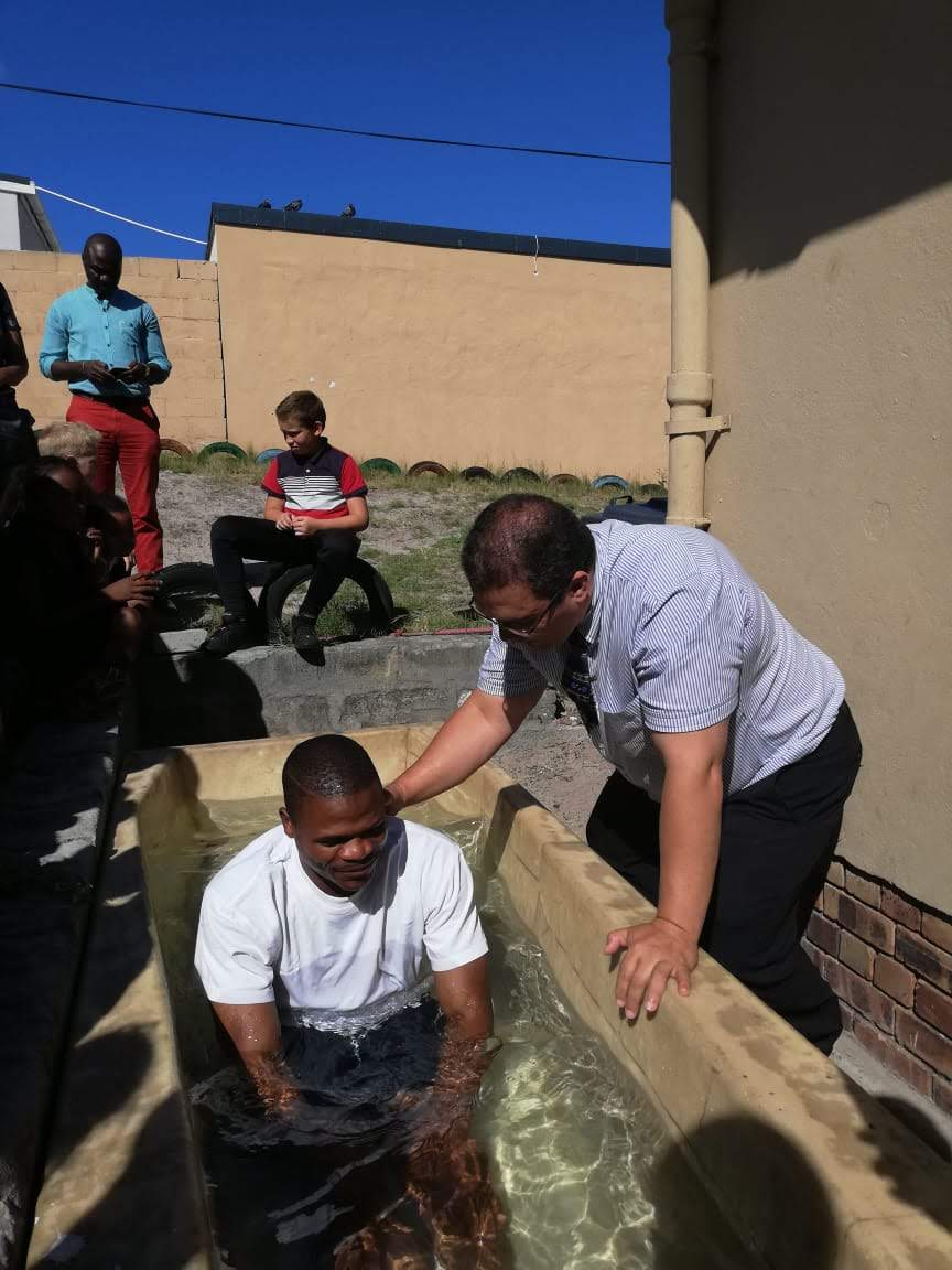Baptism in Cape Town